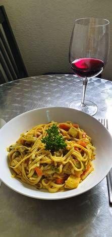 Zöldséges tészta ázsiai ízvilággal Tofu, Spaghetti, Ethnic Recipes, Noodle