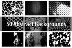 Check out 50 Abstract Backgrounds by vito12 on Creative Market