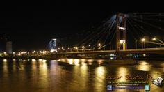 Nuestro querido Puente Colgante,  símbolo de la ciudad de Santa Fe