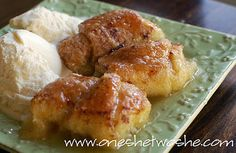 *apple dumplin's. these are easy, yummy, and cozy! try using {part} brown sugar.