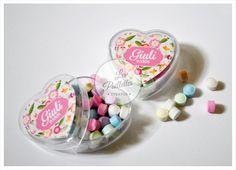 Cajas Acrilico Corazon personalizadas. #cajasacrilicas #candybar #pastilleros #golosinaspersonalizadas #cumpleaños #souvenir