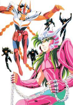Saint Seiya - Phoenix Ikki & Andromeda Shun