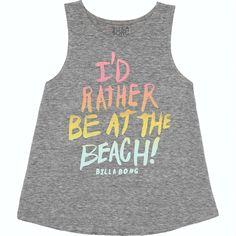 I Be At The Beach Tank | Billabong US