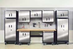 70+ Steel Storage Cabinets for Garage - Best Kitchen Cabinet Ideas Check more at http://www.planetgreenspot.com/77-steel-storage-cabinets-for-garage-kitchen-cabinets-countertops-ideas/