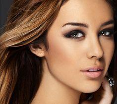 Sarah from JLS: Hair and Makeup Photographer: Nick Lovell