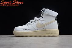 timeless design 55c11 05710 2018 Fashion Nike Air Force 1 High Tops Shoes White Black Men And Women Size