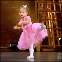 Tiny 2 year old Amy the #ballerina interrupted her mother's #So_You_Think_You_Can_Dance audition... and completely stole the show
