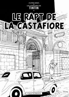 Les Aventures de Tintin - Album Imaginaire - Le Rapt de la Castafiore