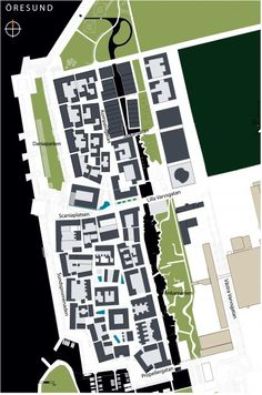 Bo01, Malmö, Sweden | Urban green-blue grids