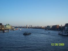 The view from London Bridge