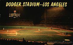 Dodger Stadium 1970