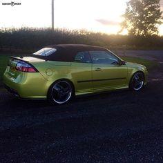 Those Hirsch wheels   #Saab #saabcarsofsweden
