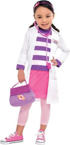 Toddler Girls Doc McStuffins Costume - Party City