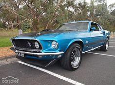 1969 Ford Mustang Mach 1 Manual-$79,500*