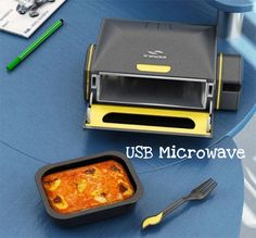 We all knew it was coming.. A microwave ran by USB