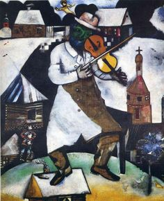 The Fiddler -  Marc Chagall