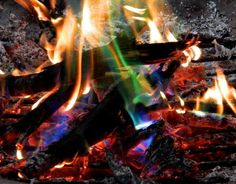MYSTICAL FIRE - Adds Colorful flames to a Campfire - 24 Packs:Amazon:Home & Kitchen