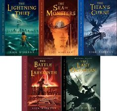 Rick Riordan is the mythology master.