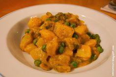 Kartoffel-Champignon-Curry