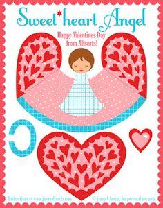 Papercraft ♥ creare con la carta: Angioletti di Natale: per splendide decorazioni o segnaposti fatti a mano!