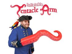 Inflatable Tentacle Arm.