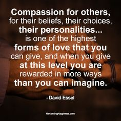 Great words from our week guest, David Essel