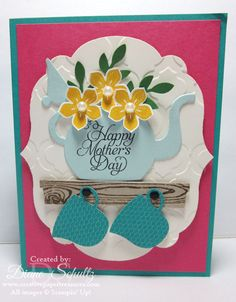Mother's Day cups & kettle