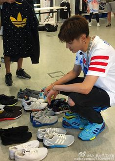 Kris the One Day Adidas Marketing Staff and Photoshoot BTS