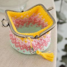 Cat mom gift, unique kiss lock purse for women, cat lovers coin purse, cute crochet gift for her Crochet Coin Purse, Crochet Purses, Crochet Bags, Bead Crochet, Cute Crochet, Crochet Mignon, Crochet With Cotton Yarn, Clip Frame, Frame Purse