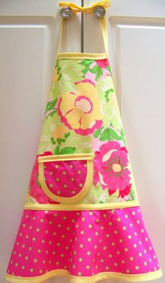 Cute kid apron for sale on etsy.