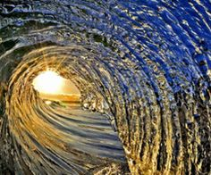 The ocean is the light at the end of my tunnel <3