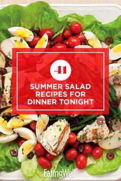 Summer Salad Recipes, Salad Recipes For Dinner, Dinner Salads, Summer Salads, Healthy Salads, Healthy Eats, Tomato And Onion Salad, Crispy Tofu, Mango Salad