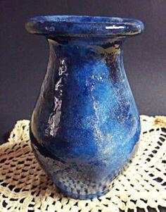 trabalho de patina em vaso