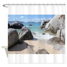 The Baths Shower Curtain on CafePress.com