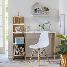 Home Room Design, Home Office Design, Home Office Decor, Home Interior Design, Home Decor, House Design, Diy Furniture, Furniture Design, Study Table Designs
