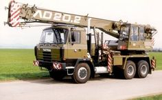 AD 20.2 Trucks, Techno, 4x4, Busse, Construction, Vehicles, Heavy Equipment, Crane Car, Tractors