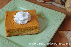 Pumpkin Butter Cake ~ You're Welcome. - Or so she says...