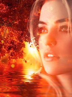 Autumn animation I made with images I blended Beautiful Fantasy Art, Beautiful Gif, Beautiful Girl Image, Love You Images, Fractal, Amazing Gifs, Disney Drawings, Drawing Disney, Fall Displays