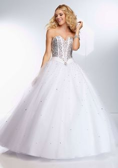 The perfect white #ballgown for #prom2014 found at #jbbridals
