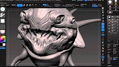 Tips & tricks on building compelling creatures in ZBrush with Wacom Cintiq