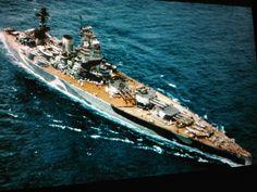 HMS Rodney Battleship (color)