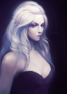 021/366 by exellero female dark elf drow witch wizard warlock sorcerer sorceress commoner armor clothes clothing fashion player character npc   Create your own roleplaying game material w/ RPG Bard: www.rpgbard.com   Writing inspiration for Dungeons and Dragons DND D&D Pathfinder PFRPG Warhammer 40k Star Wars Shadowrun Call of Cthulhu Lord of the Rings LoTR + d20 fantasy science fiction scifi horror design   Not Trusty Sword art: click artwork for source