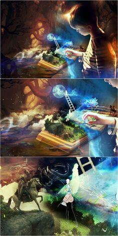 """Just a dream"" by Anaïs.R Site: www.anaiscreations.book.fr FB: Anaïs.R créations"