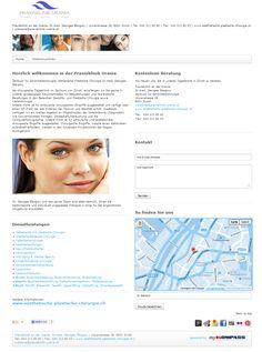 Praxisklinik an der Urania, Dr.med. Georges Stergiou, plastische Chirurgie, ästhetische Chirurgie, Zürich, Laserbehandlung, Kiefer- und Gesichtschirurgie, Brustvergrösserung