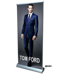 Shop now a wide range of Retractable Roll Up Banner Stands with full-color graphics. Sales Presentation, Business Presentation, Rollup Banner Design, Roll Up Design, Retractable Banner, Banner Stands, Vinyl Banners, Promote Your Business, Trade Show