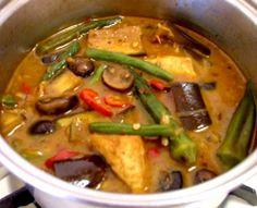 Vegan savory stew (Mắm kho chay)