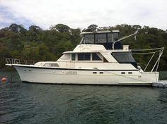 58' Hatteras 1975 Yacht Fisherman Boat For Sale www.EdwardsYachtSales.com