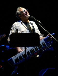 Donald Fagan.....The man is a genius, LOVE his music !