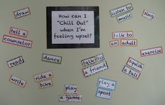 """School Counselor Blog: How Can I """"Chill Out"""" When I'm Feeling Upset?"""