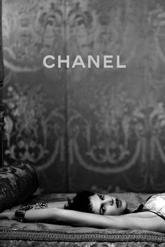 """addicted-to-black: """" Chanel """""""
